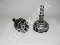 Starter drive with gear 6033AD5359 BOSCH